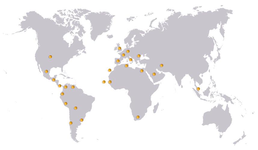 Presencia Internacional de la división Didáctica de HRE HIDRAULIC