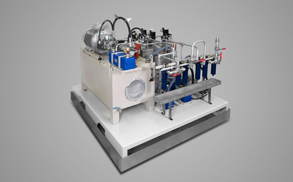 Automatismos hidráulicos, electrohidráulicos y servohidráulicos
