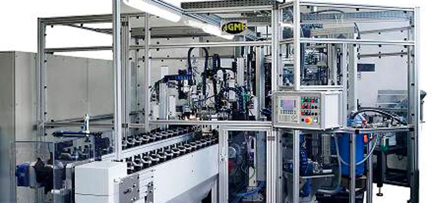 Máquinas de montaje y manipulación, sector en el que HRE Hidraulic está presente